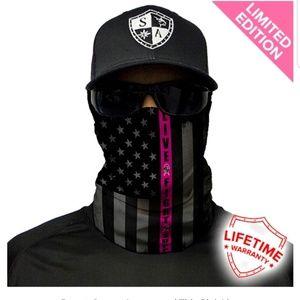 SA Face shield Sun Mask wear 10 different ways